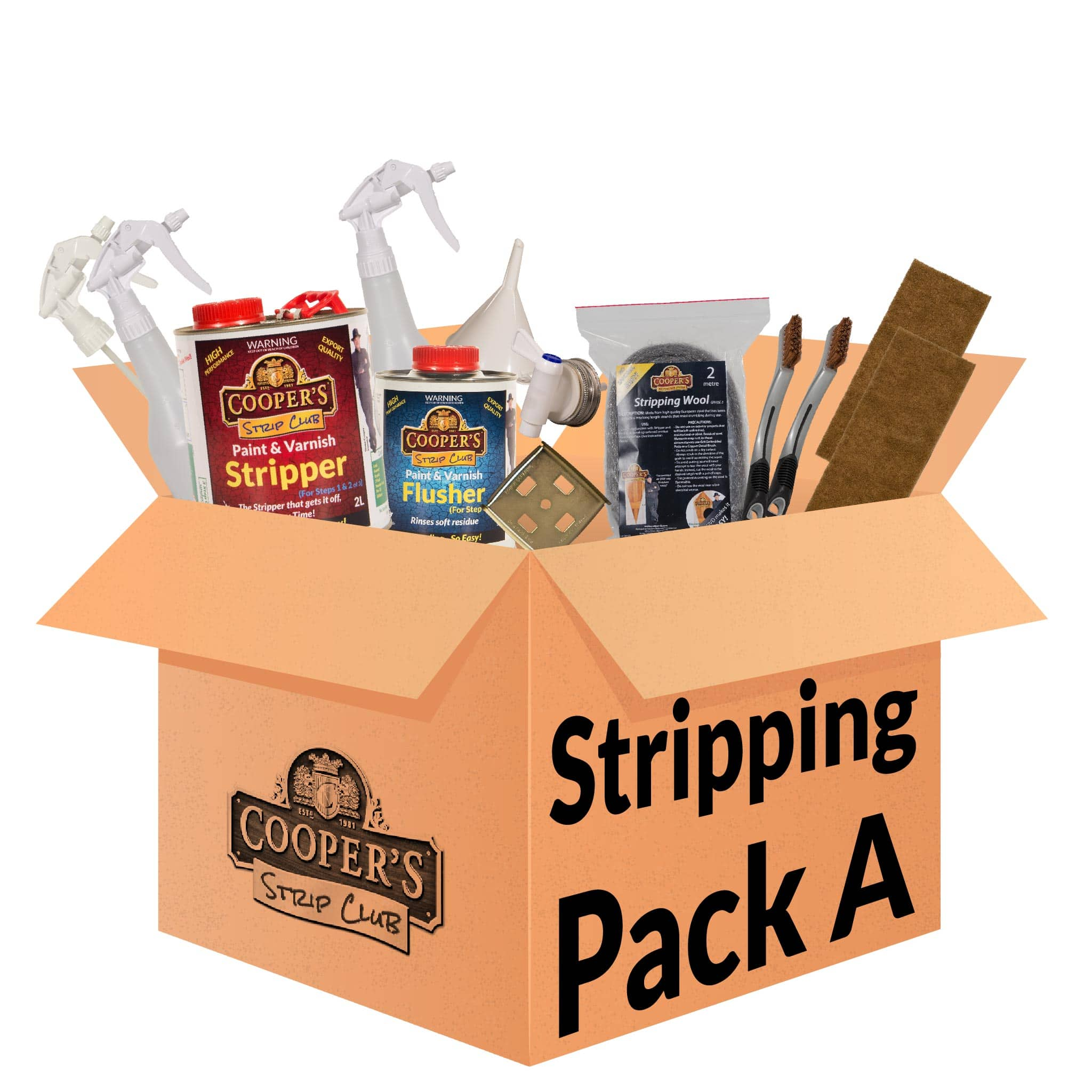 Cooper's Stripping Pack A